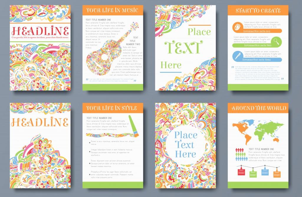 Die einzelnen Seiten können ganz unterschiedlich mit Text und Bildern gestaltet sein – ein einheitliches Layout schafft ein stimmiges Bild.