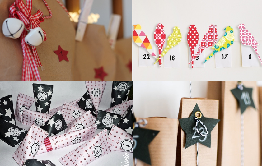 kreative Ideen für DIY-Adventskalender