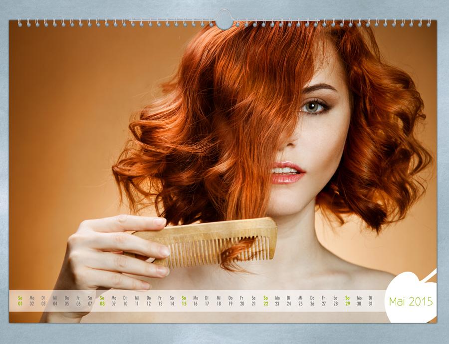 Ein Fotokalender sollte in erster Linie optisch ansprechend sein.