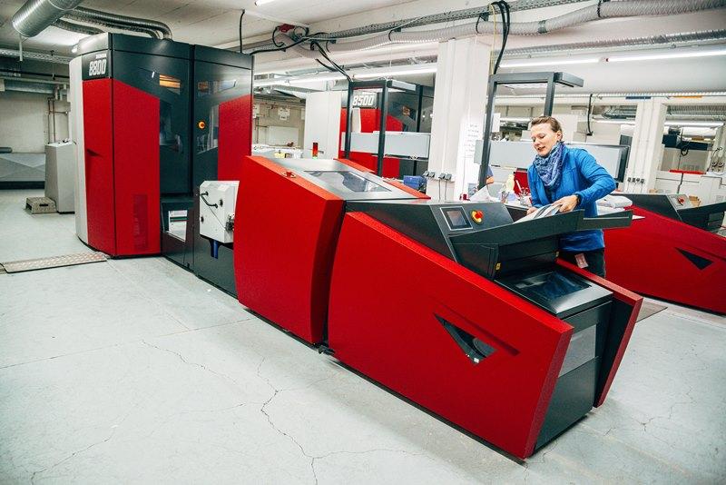 Xeikon-Druckmaschine von Online-Druck