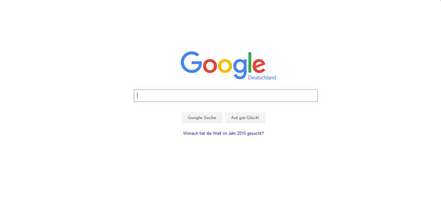 Ziemlich ähnlich und doch anders: Google mit neuem Design.