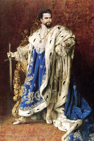 König Ludwig II Werbung