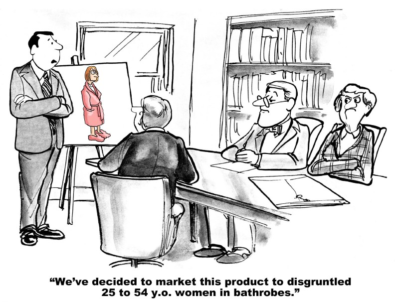 Ob diese Entscheidung wohl auf einer umfangreichen Zielgruppenanalyse basiert?
