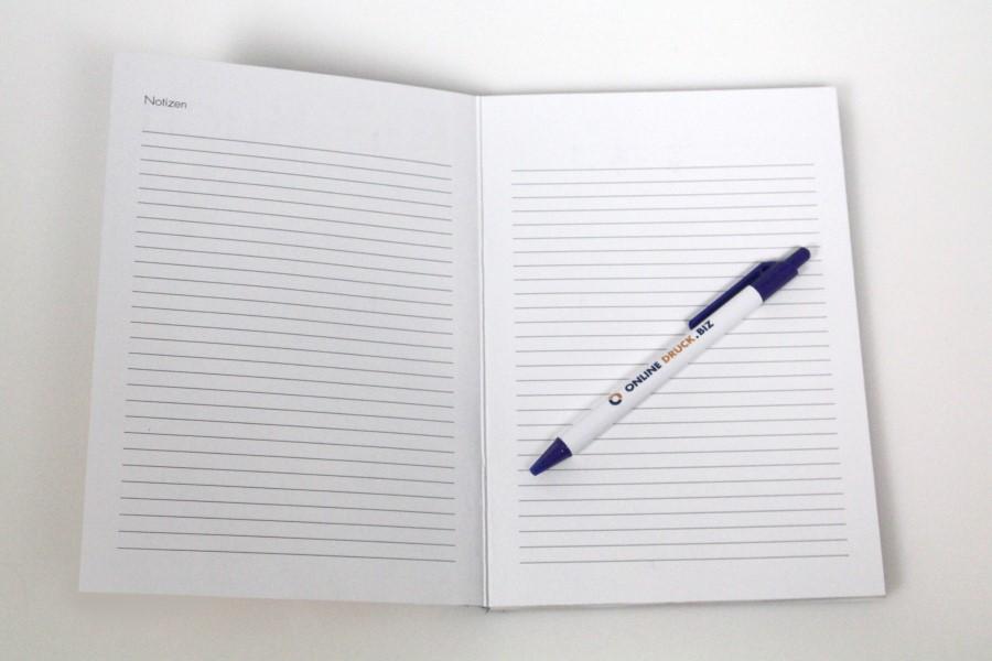 Kreative Ideen für das BIZ Buch - fügen Sie Notizseiten ein.