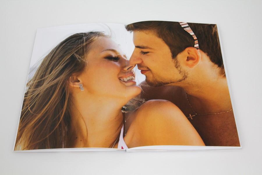 Kreative Ideen für das BIZ Buch - Highlights setzten mit doppelseitigen Bildern.