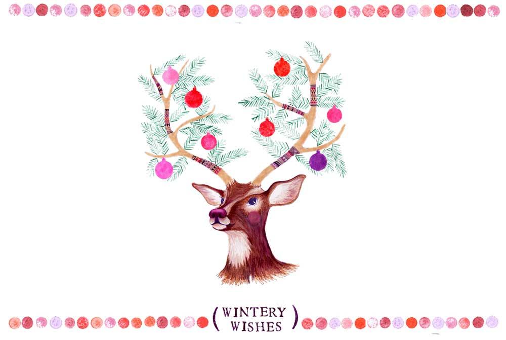 Weihnachtskarten Special Cover Miri D´Oro