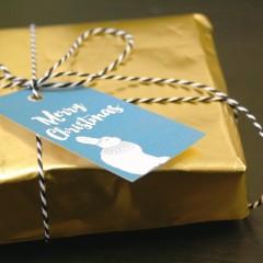 Weihnachtliche Druckvorlagen für Ihre Geschenkanhänger: Das Beste zum Feste!