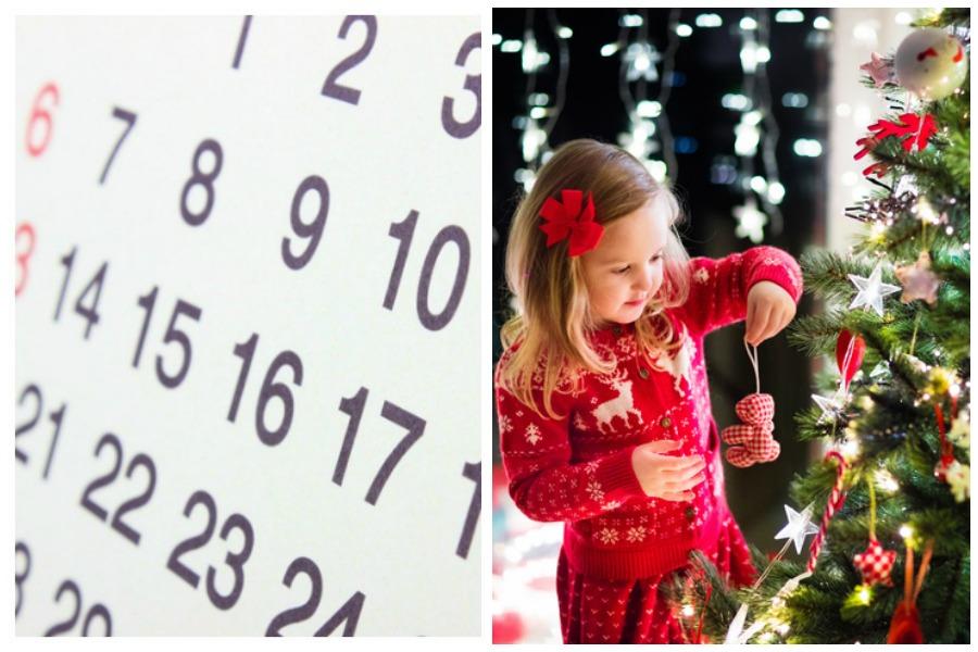 Einen Fotokalender gestalten für Weihnachten