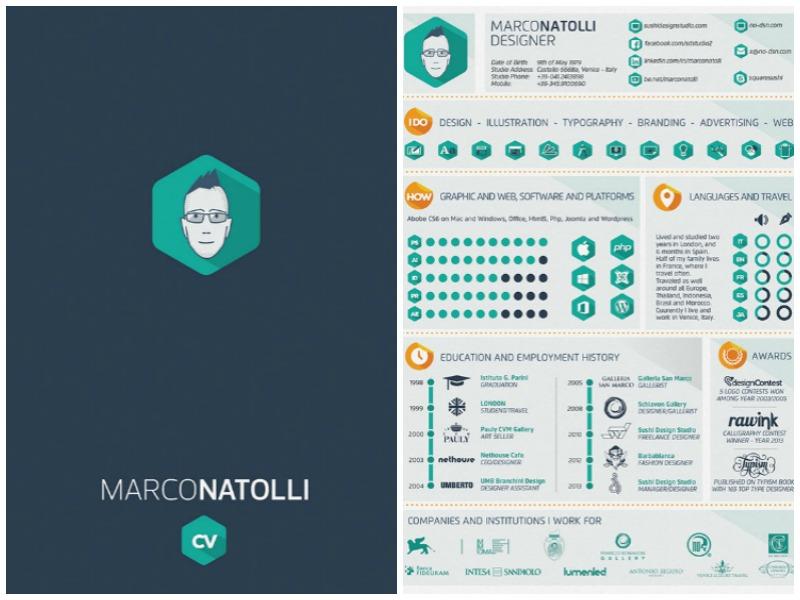Creative Resume von Marco