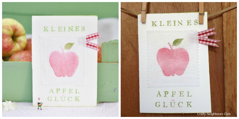 Apfel-Karte
