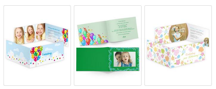 Geburtstagskarte bei onlinedruck.biz gestalten