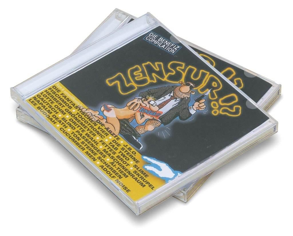 Künstler wie Die Ärzte, die Fantastischen Vier und Tocotronic unterstützten auf dieser CD den Alpha Comic Verlag in seinem Kampf gegen die Zensur.