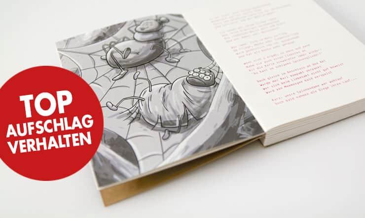 Designbuch offene Fadenbindung