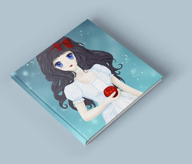 Con-Hon Manga Schneewittchen