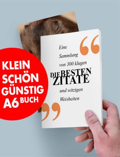 Buch A6 kompakt günstig online drucken