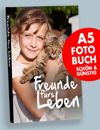 Fotobuch A5 online drucken