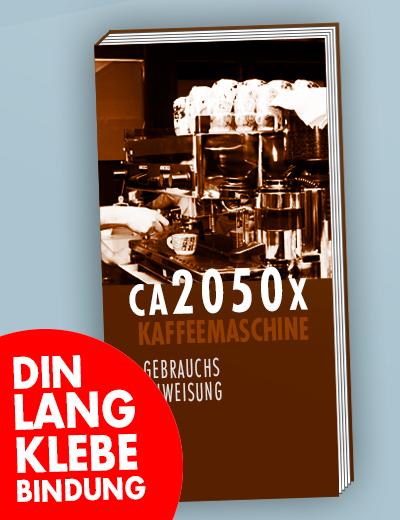 Broschuere DIN Lang Klebebindung 105 x 210 mm