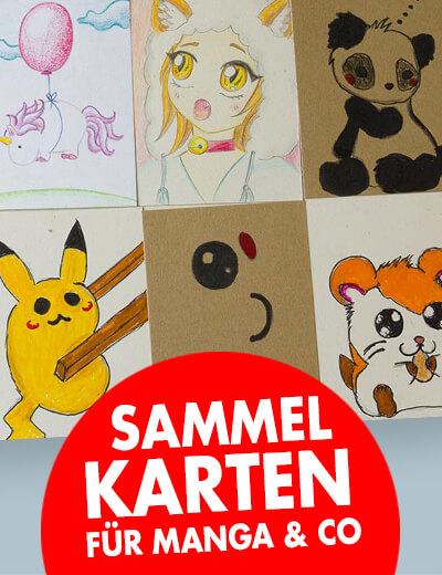 Kakao Sammelkarten Manga online drucken
