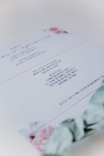 Hochzeitskarte Einladung Klappkarte Briefumschlag Gross