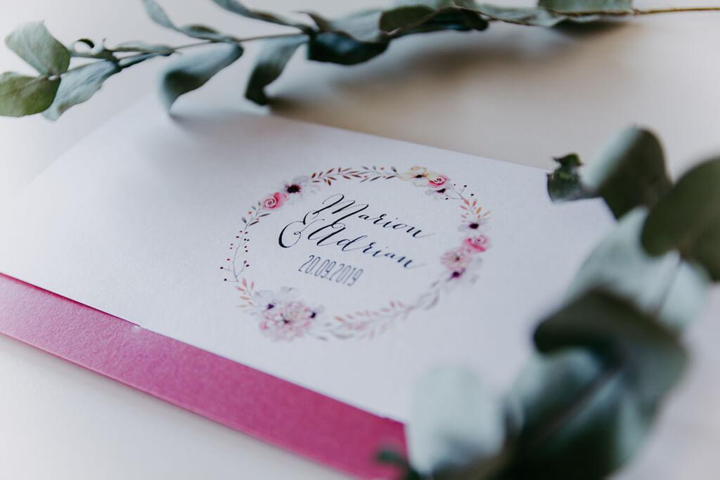 Einladungskarten Hochzeit Briefumschlagoptik klein