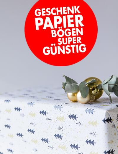 Geschenkpapier 70x42 super günstig