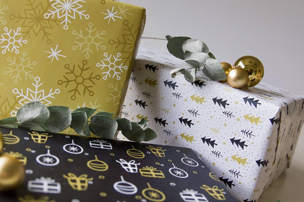 Geschenkpapier online drucken