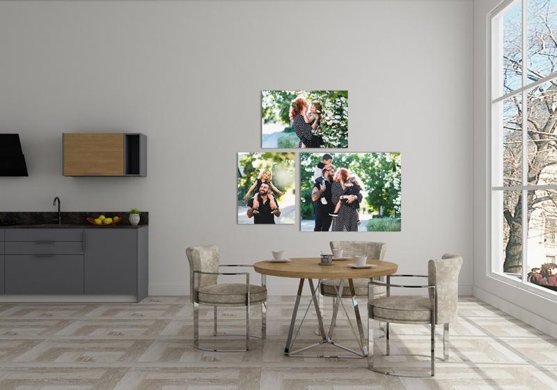 Foto Leinwand Canvas Wandschmuck Esszimmer Familie