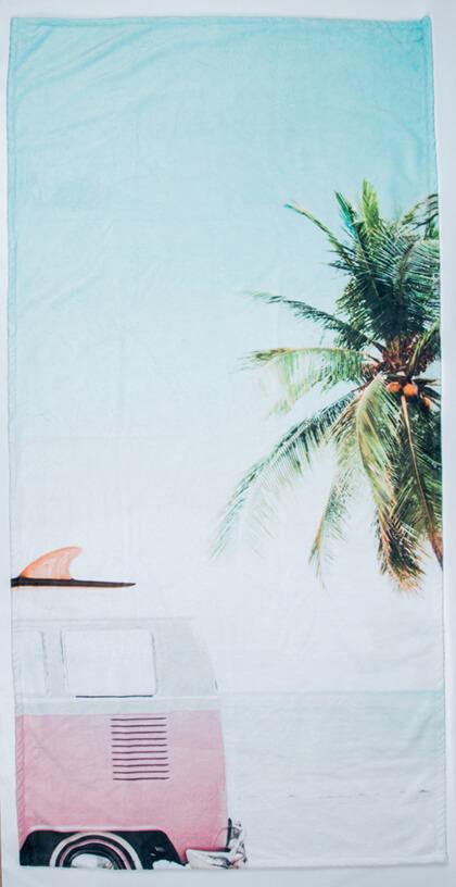 Strandtuch 90x180 cm online drucken