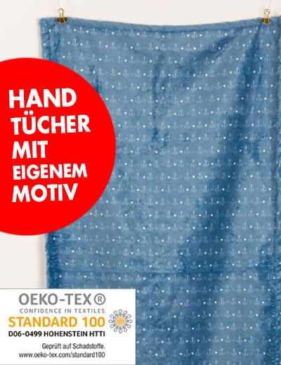 Handtuch im Bad 50x100 cm