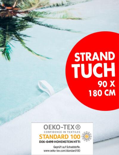 Strandtuch Oeko-Tex zertifiziert