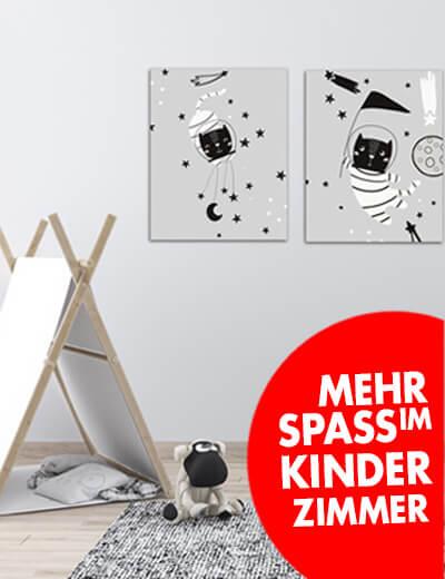 Foto Leinwand Canvas Kinderzimmer online erstellen