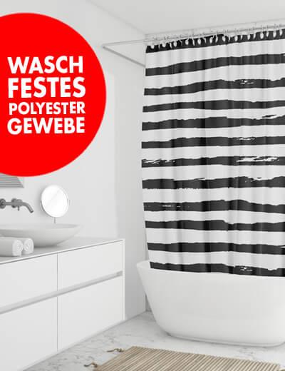 Duschvorhang online drucken 110 x 175 cm