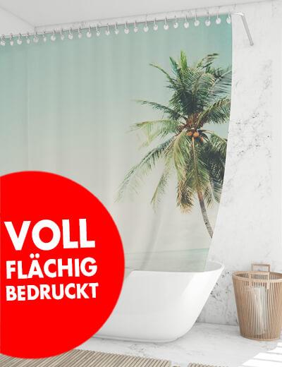 Duschvorhang online drucken 130 x 240 cm