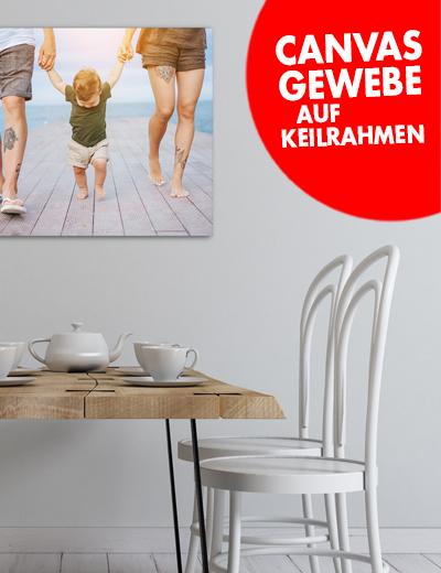 Canvas Fotoleinwand online drucken 75 x 50 cm