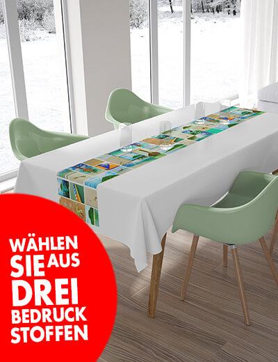 Individuelle Tischlaeufer online bestellen 140 x 40 cm