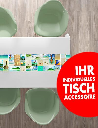 Eigene Tischlaeufer online drucken 160 x 40 cm
