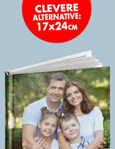 Buch Hardcover Softcover 17 x 24 cm online drucken