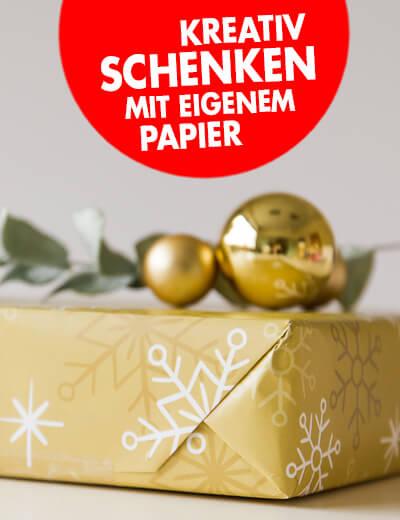 Geschenkpapier online bedrucken 180 x 48 cm mit Ihrem Motiv