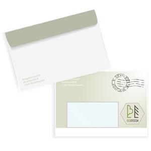 Briefumschläge Kuverts C6 mit Fenster online bedrucken