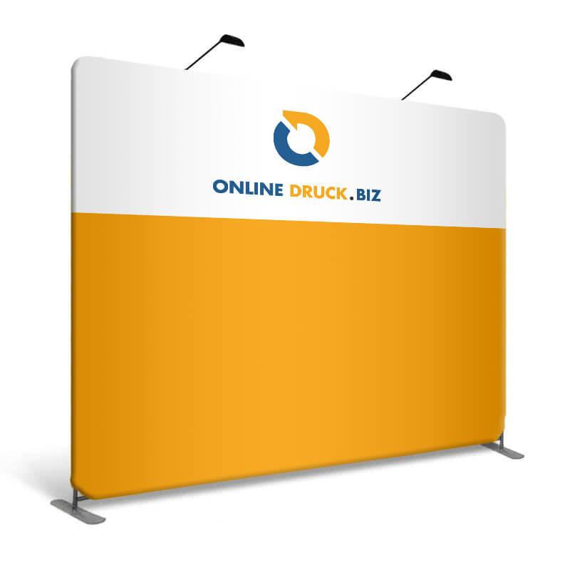 Messewand Zipp Up Display gerade online drucken