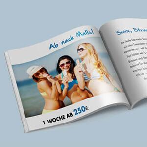 Broschueren Hefte Magazine verschiedene Formate Rueckstichheftung guenstig online drucken