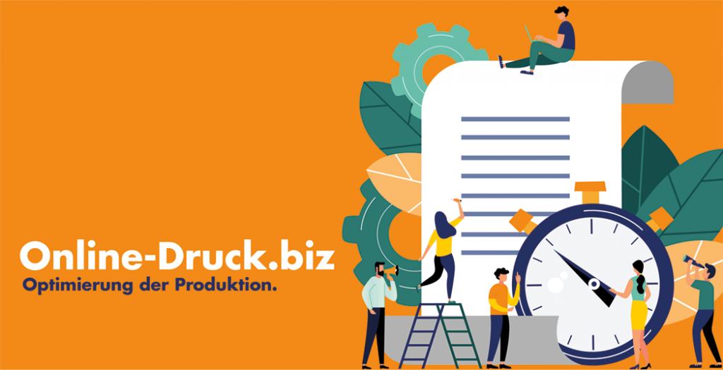 Online-Druck.biz Produktionsoptimierung