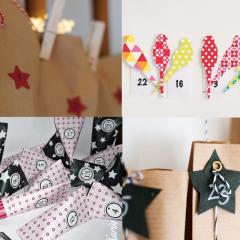 Adventskalender basteln: 5 Bloggerinnen zeigen ihre schönsten DIY-Ideen