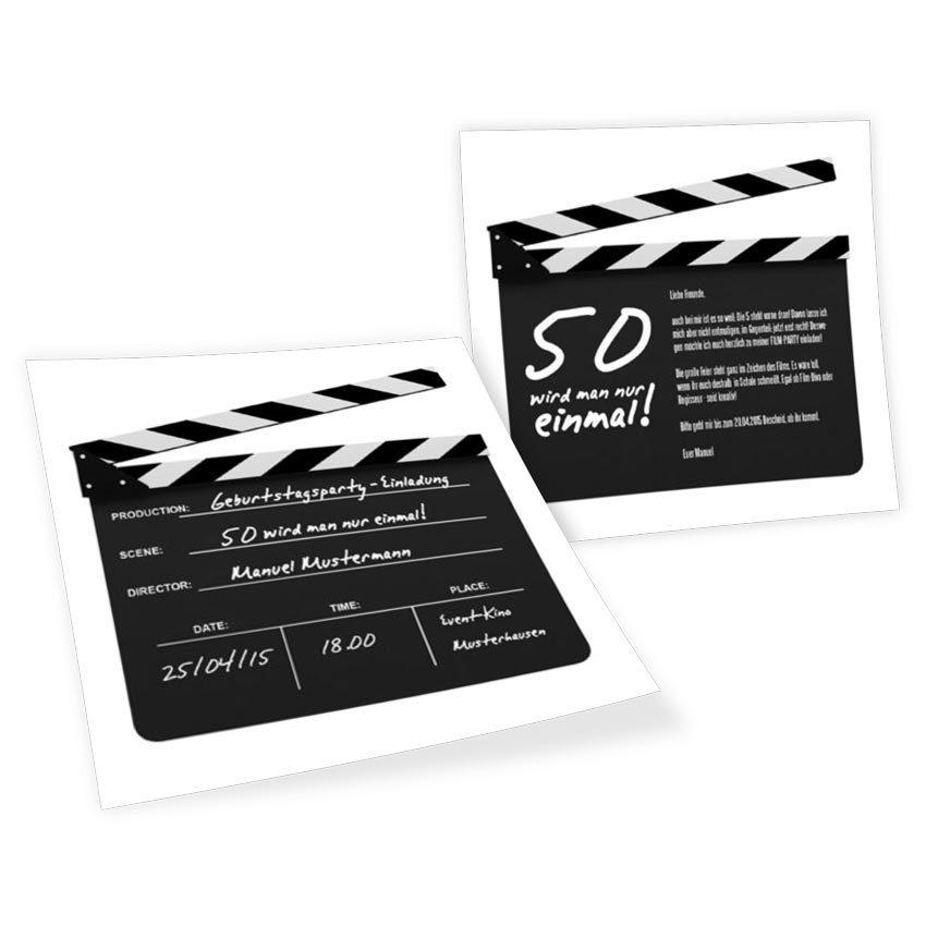 Eine Filmreife Einladung: Geburtstagsparty, Klappe Die Erste!