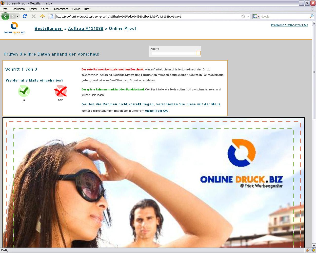 Druckdaten online prüfen mit neuen Funktionen