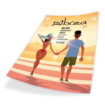 Abi Party Flyer A6 günstig online drucken