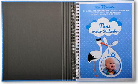 Baby-Tagebuch gestalten