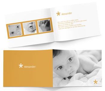 Geburtskarten und klappkarten zur geburt online gestalten for Geburtskarten online gestalten
