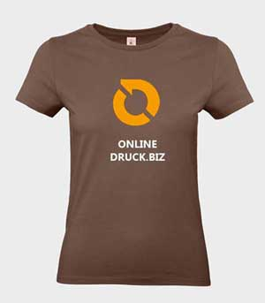 Damen T-Shirts online günstig bedrucken Digitaldirekt