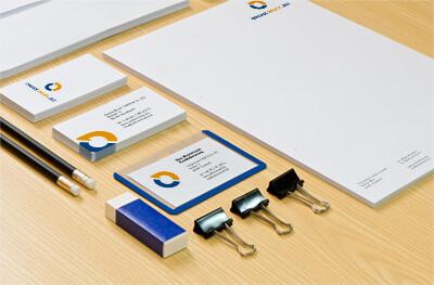Bürobedarf Briefhüllen Visitenkarten online drucken